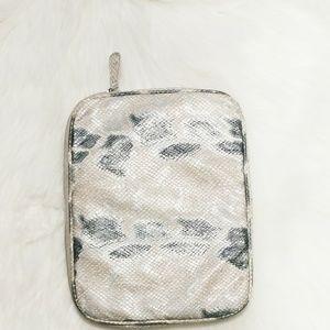 Christopher & Banks Snakeskin iPad/Tablet Case